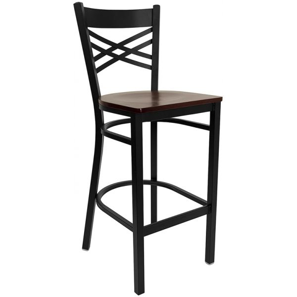 Flash Furniture HERCULES Series ''X'' Back Barstool