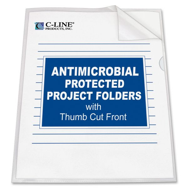 C-Line Anti-Microbial Project Folders