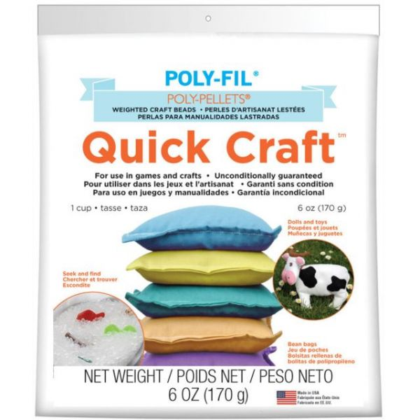Poly-Pellets Quick Craft Weighted Craft Beads