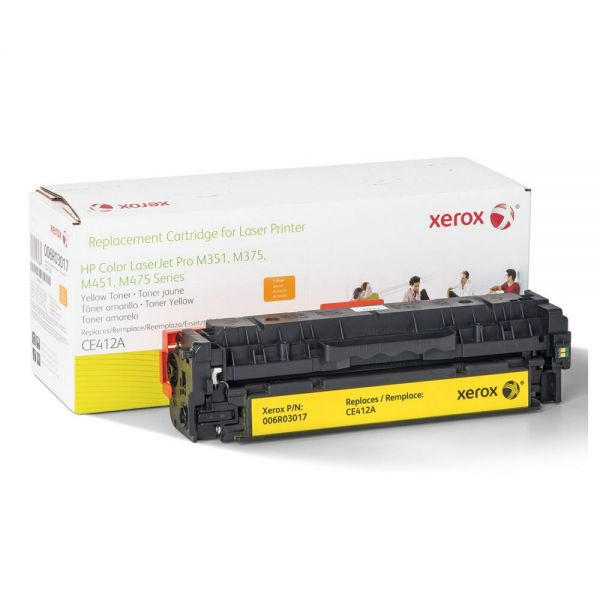 Xerox Remanufactured HP CE412A Toner Cartridge