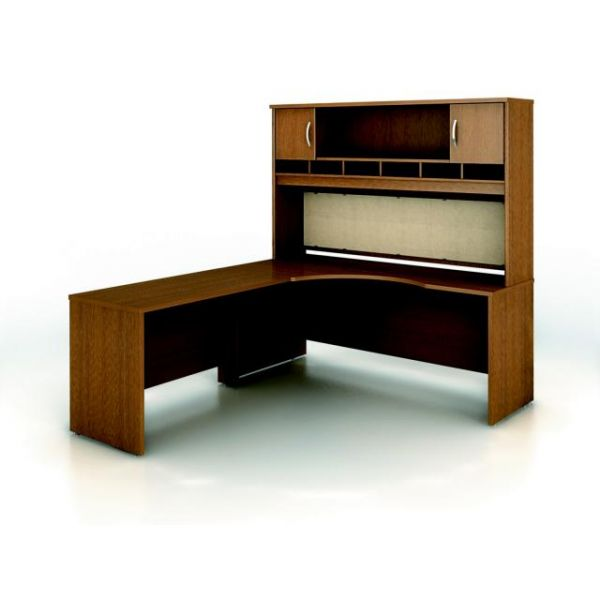 bbf Series C Professional Configuration - Warm Oak finish by Bush Furniture