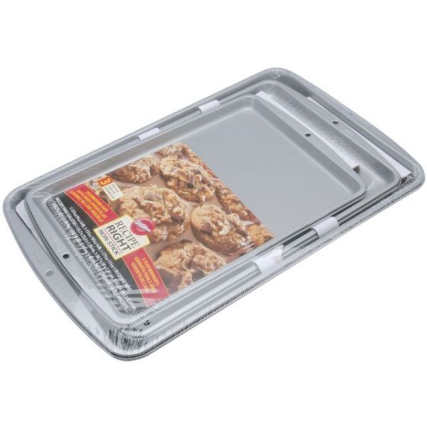 Recipe Right Cookie Pans 3/Pkg