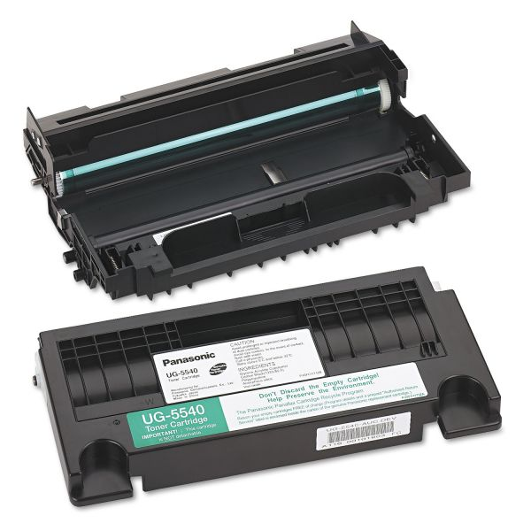 Panasonic UG5540 Toner, 10000 Page-Yield, Black