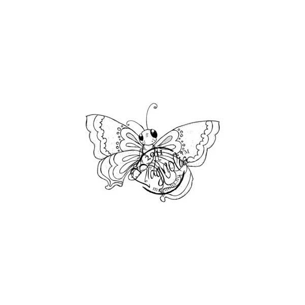 "Butterfly Dreams Cling Stamp 5.5""X3.75"" Package"