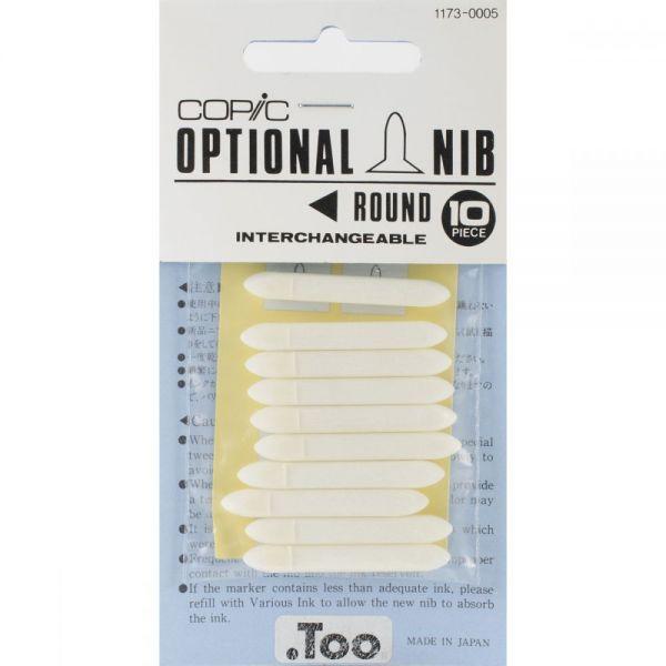 Copic Original Marker Round Nibs 10/Pkg