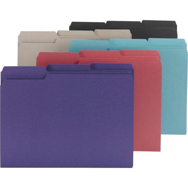 Smead Colored Interior File Folders