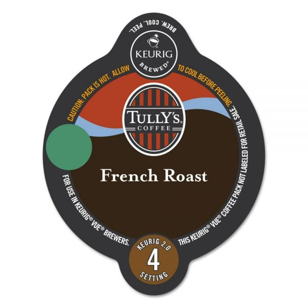 Tully's Coffee French Roast Coffee Vue Pack
