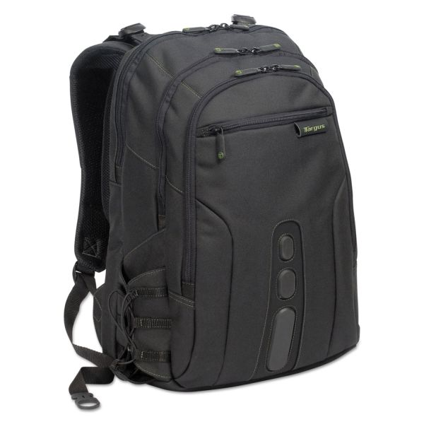 "Targus Spruce Ecosmart Backpack 17"" Laptop, 19 1/2 x 13 x 6 3/4, Black"