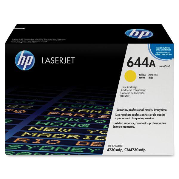HP 644A Yellow Toner Cartridge (Q6462A)
