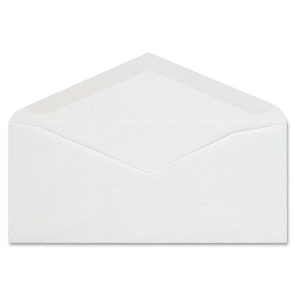 Columbian Plain White Business Envelopes