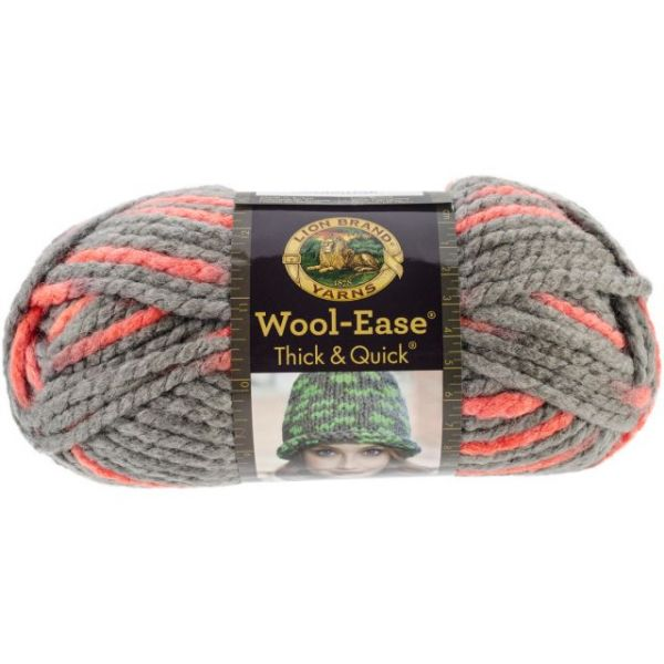 Lion Brand Wool-Ease Thick & Quick Yarn - Monarch
