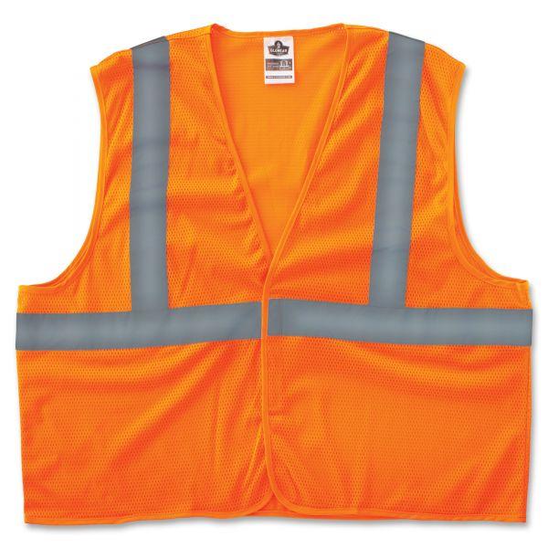 GloWear Class 2 Orange Super Econo Vest