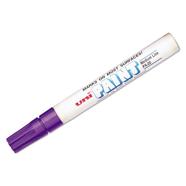 Uni-Ball Uni-Paint Oil-Base Medium Line Markers