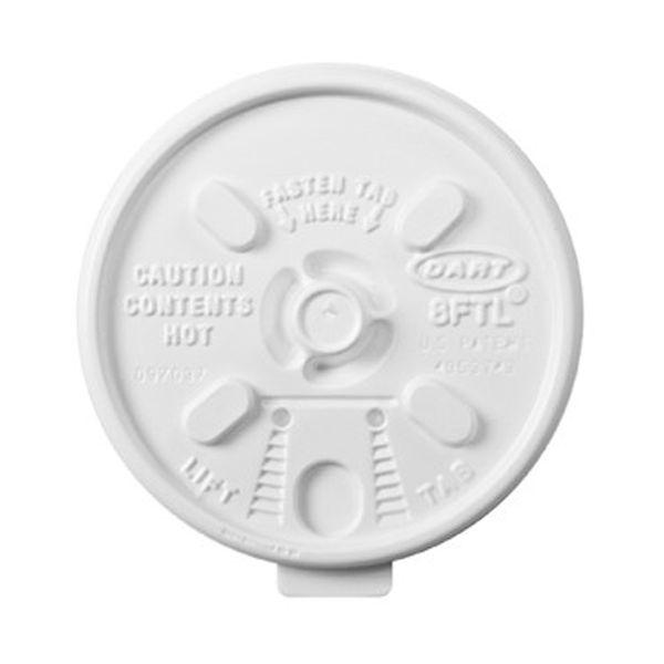 Dart Lift n' Lock Plastic Hot Cup Lids