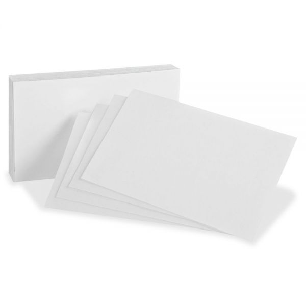 Oxford Blank Index Cards