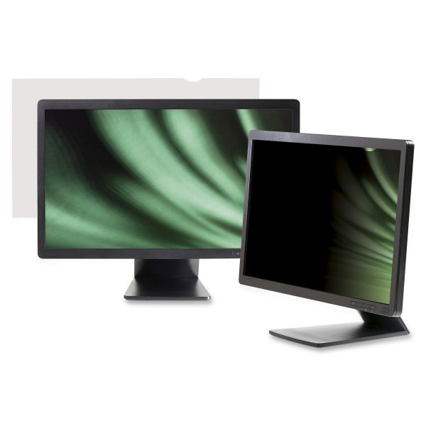 "3M PF19.5W9 Privacy Filter for Widescreen Desktop Monitor 19.5"" Black"