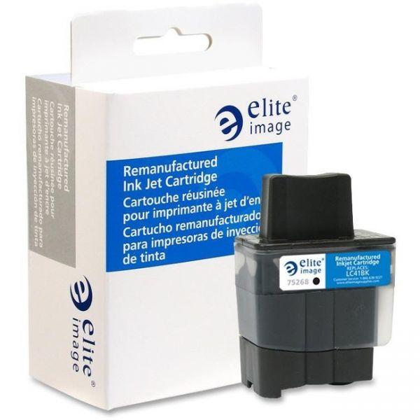 Elite Image Remanufactured Brother LC41BK Ink Cartridge
