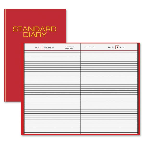 At-A-Glance Standard Daily Busines Diary