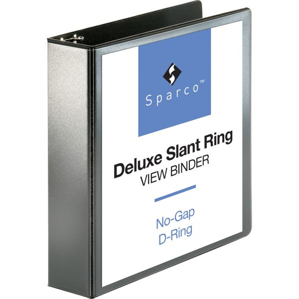 """Sparco Deluxe 2"""" 3-Ring View Binder"""