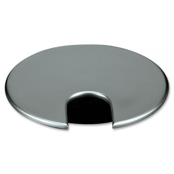Basyx Optional Grommet, Brushed Nickel