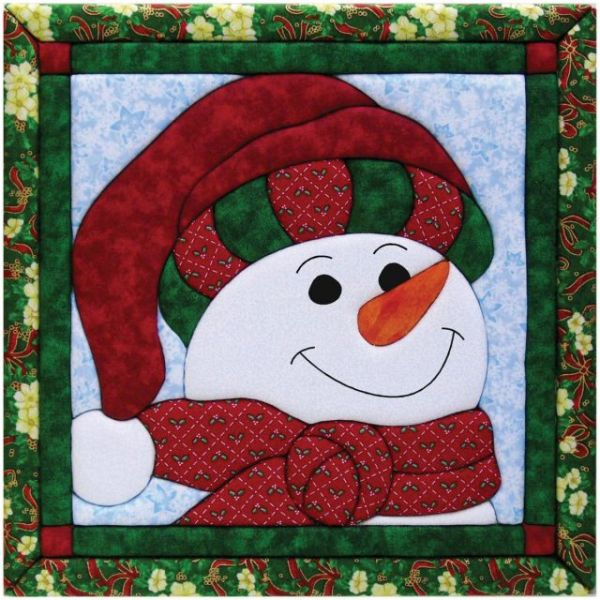 Snowman Quilt Magic Kit