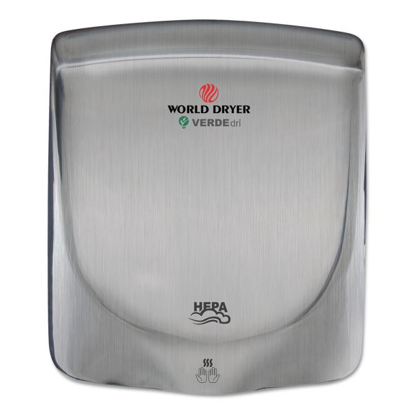 WORLD DRYER VERDEdri Hand Dryer