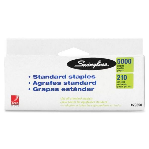 "Swingline Standard 1/4"" Staples"