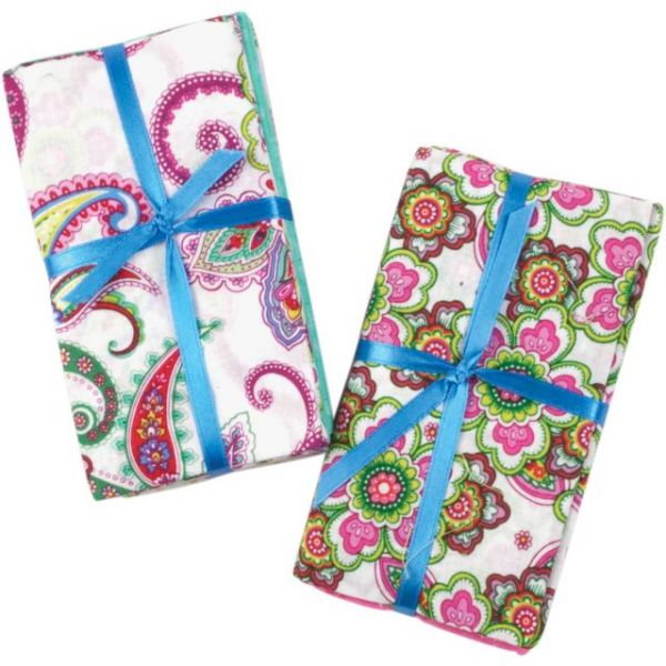"Punch of Paisley Precut Bundle 18""X21"" 5/Pkg"