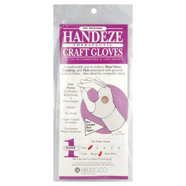 HandEze Therapeutic Craft Glove 1/Pkg