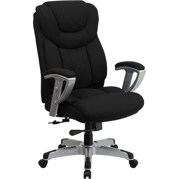Flash Furniture Big & Tall Executive Swivel Office Chair [GO-1534-BK-FAB-GG]