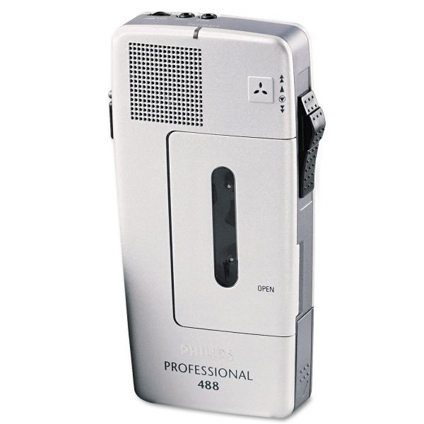 Philips Speech PM488 Pocket Memo Recorder