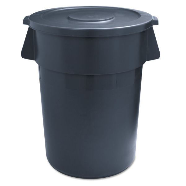 UNISAN Round 32 Gallon Trash Can