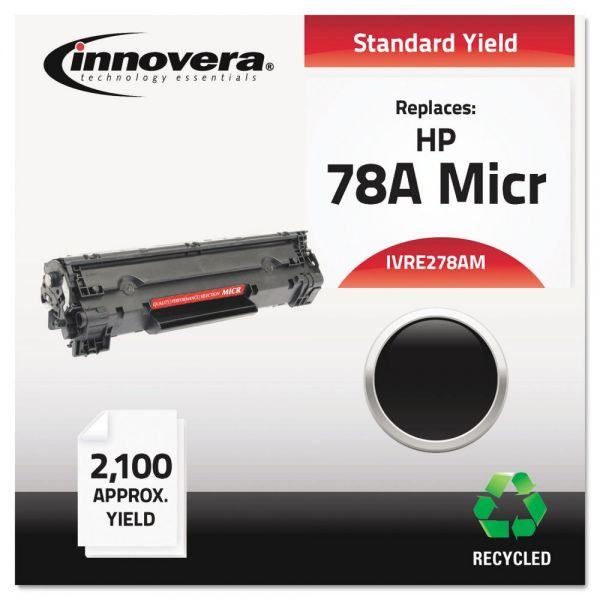 Innovera Remanufactured HP 78A (CE278A) Black MICR Toner Cartridge