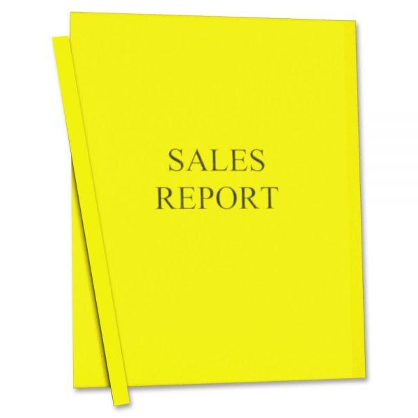 C-Line Vinyl Report Cover