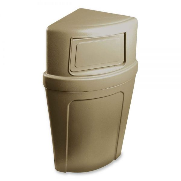 Continental Corner Round 21 Gallon Trash Can