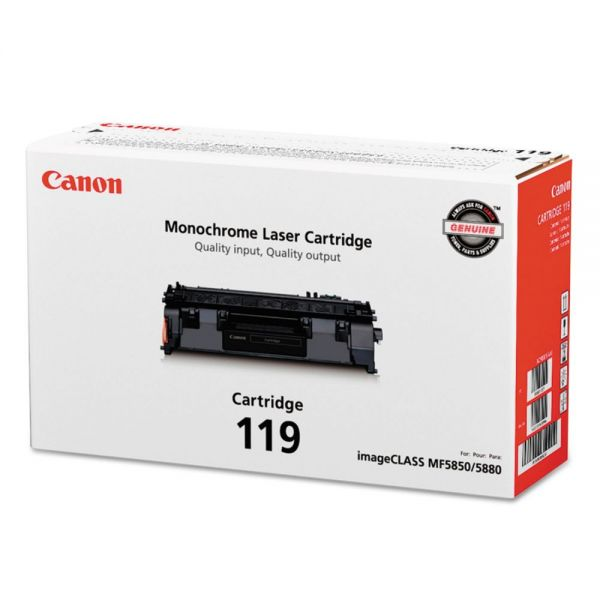 Canon CRG-119 Black Toner Cartridge (3479B001)