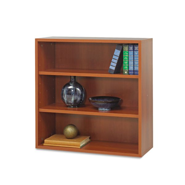 Safco Après Modular Storage 3-Shelf Laminate Open Bookcase
