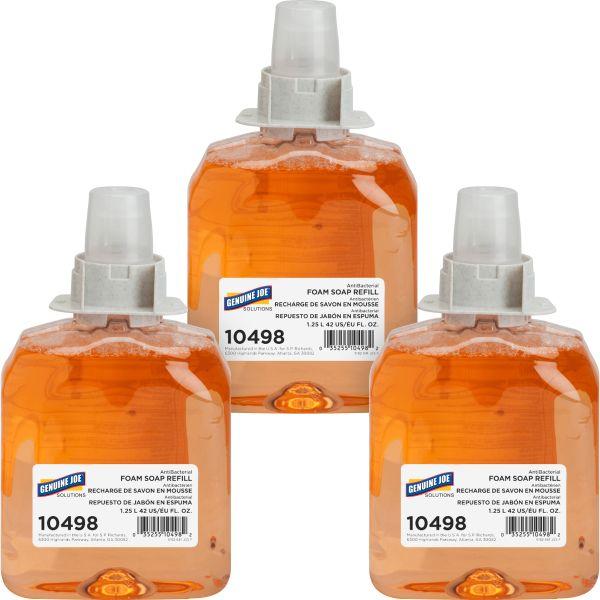 Genuine Joe Antibacterial Foam Hand Soap Refills
