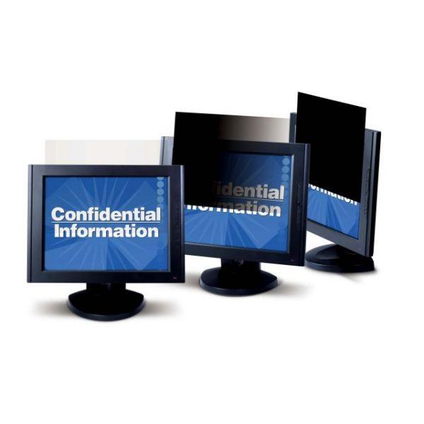 3M PF22.0W Privacy Filter for Widescreen Desktop LCD Monitors Black