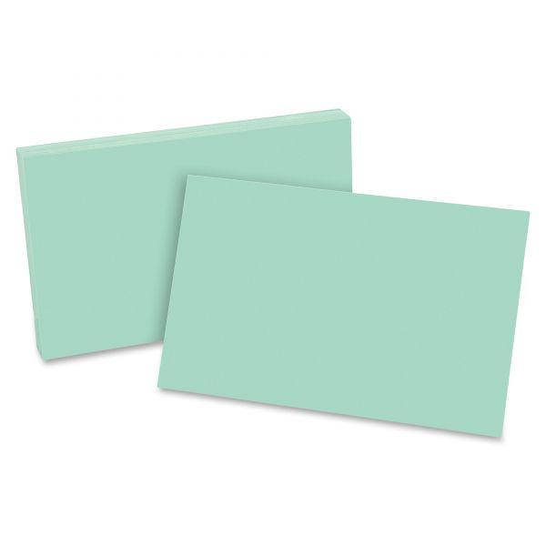 "Esselte 5"" x 8"" Blank Index Cards"