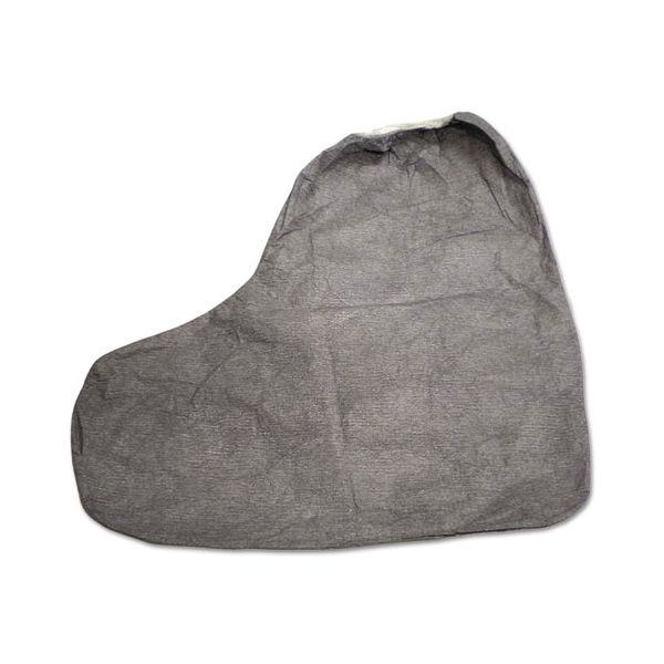 DuPont Tyvek FC Boot Cover, 16 in., One Size Fits Most, Gray, 100/Carton