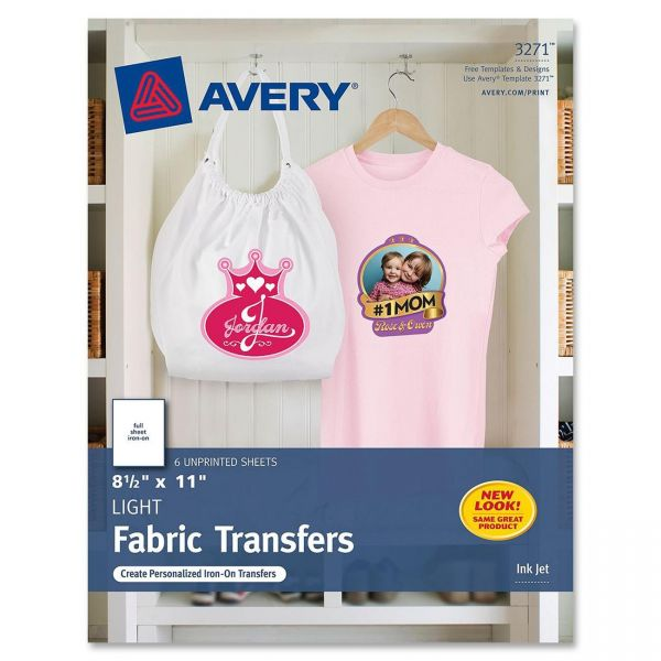 Avery Iron-on T-Shirt Transfers
