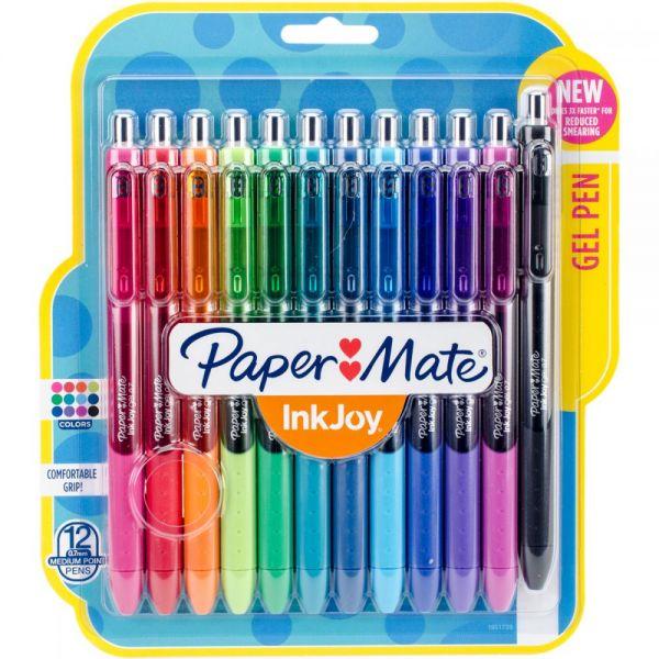 InkJoy Gel Pens .7mm 12/Pkg