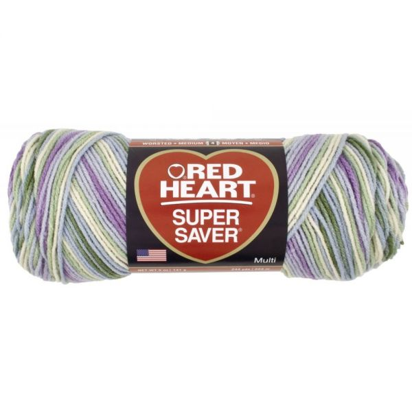 Red Heart Super Saver Yarn - Watercolor