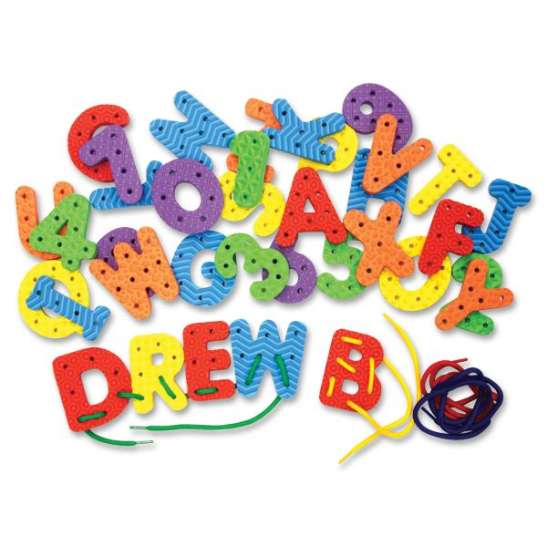 Creativity Street WonderFoam Lacing Letters & Numbers