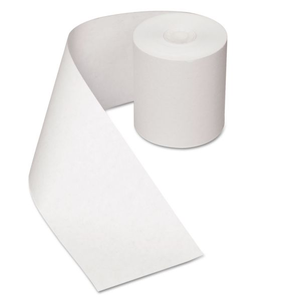 Royal Paper Register Roll, 3 in x 150 ft, White Bond, 1 Ply, 30/Carton