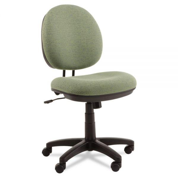 Alera Interval Series Swivel/Tilt Task Chair, Tone-On-Tone Fabric, Parrot Green