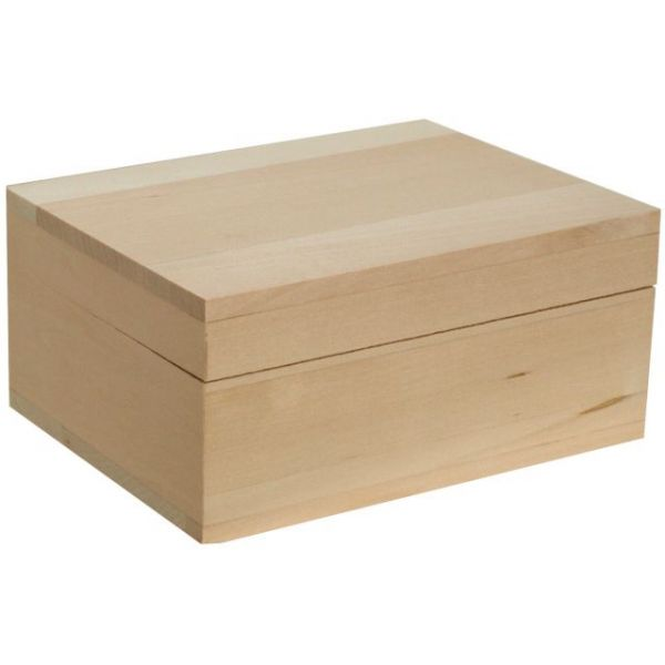 Walnut Hollow Basswood Classic Hinged Box