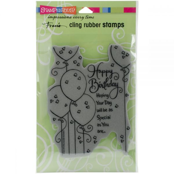 """Stampendous Fran's Cling Stamps 7.75""""X4.5"""""""