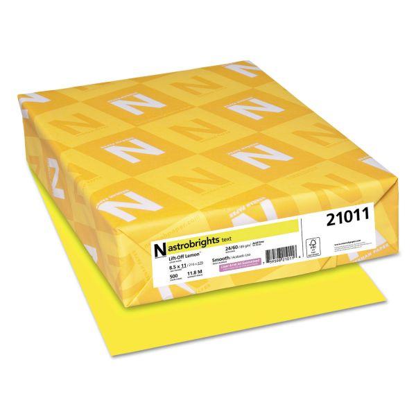 AstroBrights Colored Paper - Lift-Off Lemon